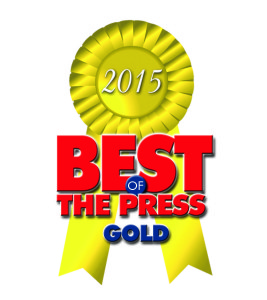 Best of Press 2015 Gold